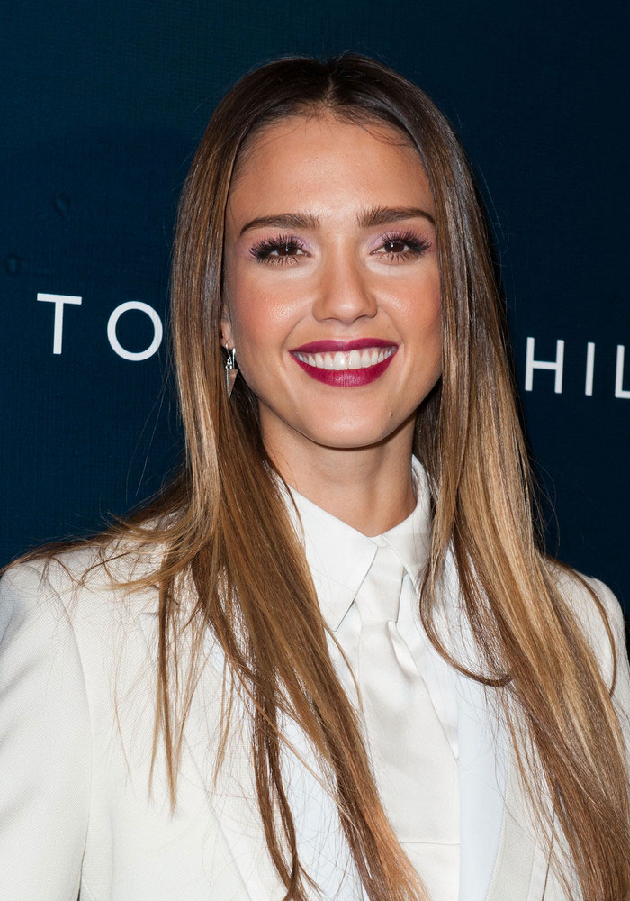 Jessica Alba. Sombre,hair,or,Whispered,Ombre,Hair,Color,Trends,