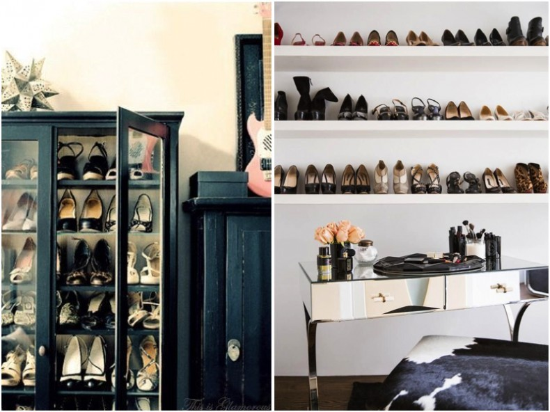 Ideas inteligentes para ordenar tus zapatos cut paste - Muebles para guardar zapatos ikea ...