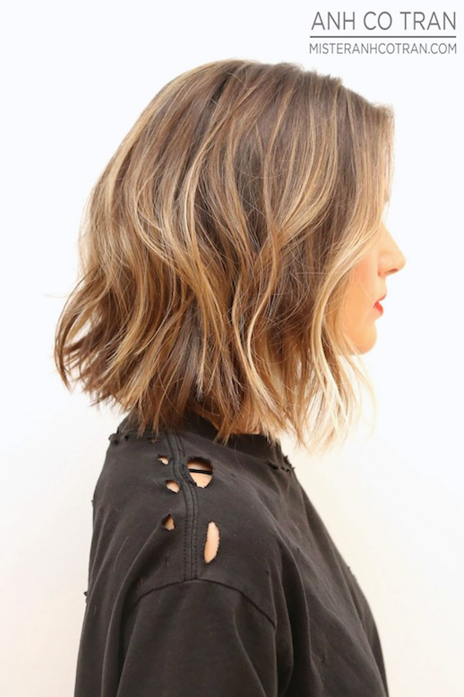Wavy Bob Cut Amp Paste Blog De Moda