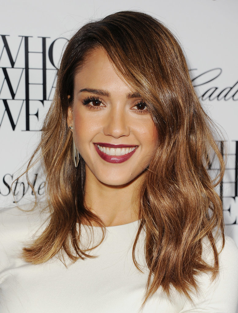 Visos Balayage dorados. Nobody,does,ombré,hair,quite,like,Jessica,Alba