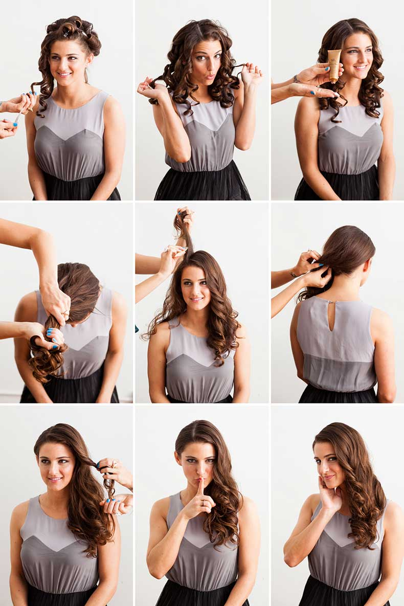 how to make your hair wavy overnight with mousse