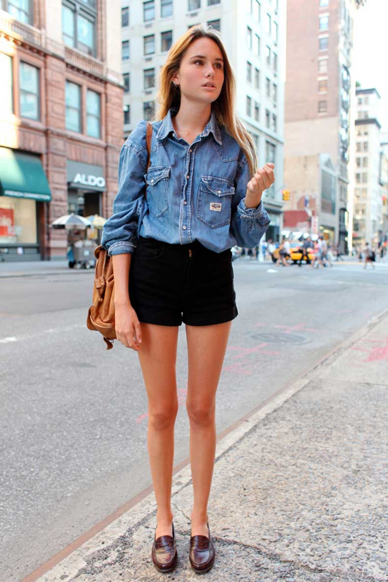 C Mo Combinar Tus Short Con Tus Zapatos Cut Paste Blog De Moda