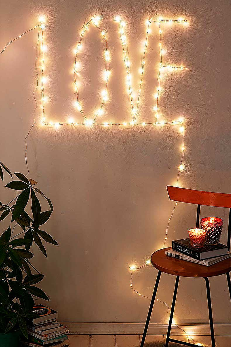 What try copper wire lights