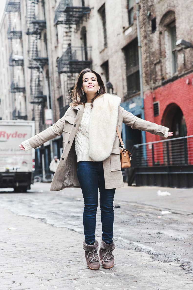 New_York_Fashion_Week-Fall_Winter_2015-Asos_Beige_Coat-Faux_Fur_Scarf-Ikkii_Boots-Winter_Outfit-Street_STyle-NYFW-Collage_Vintage-Maje_Sweater-9-790x1185