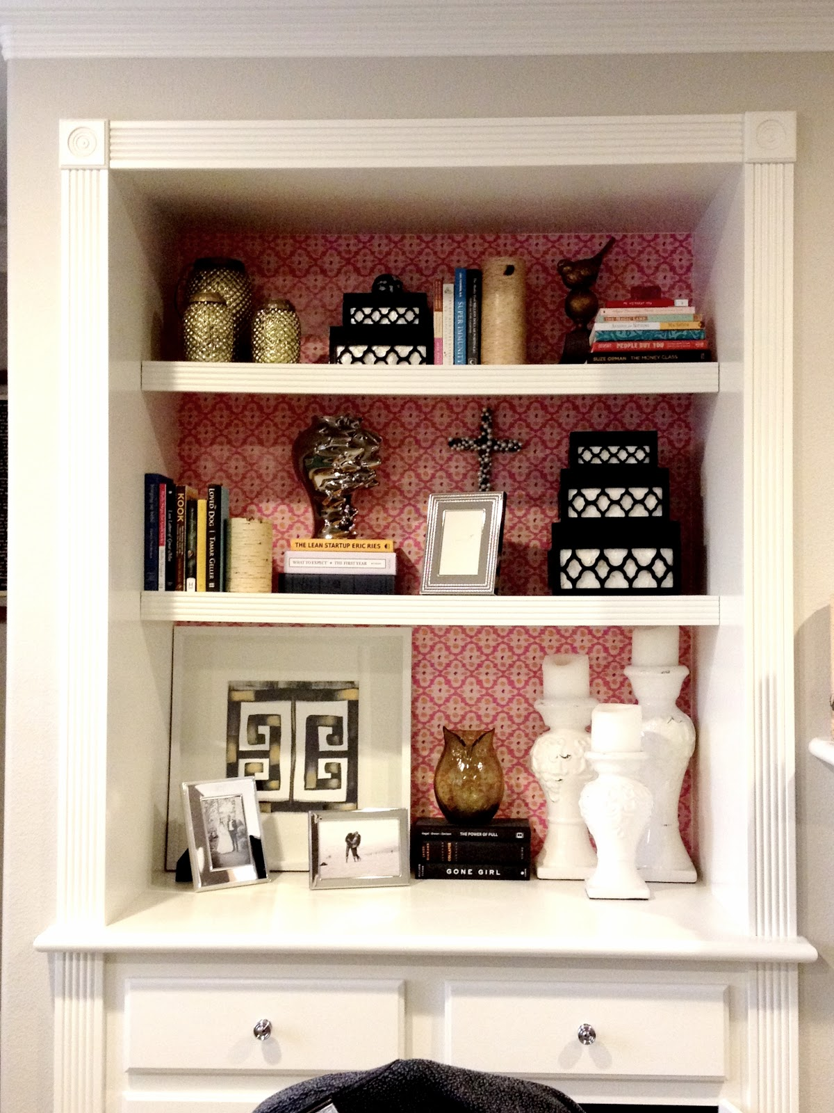 wallpaper shelf