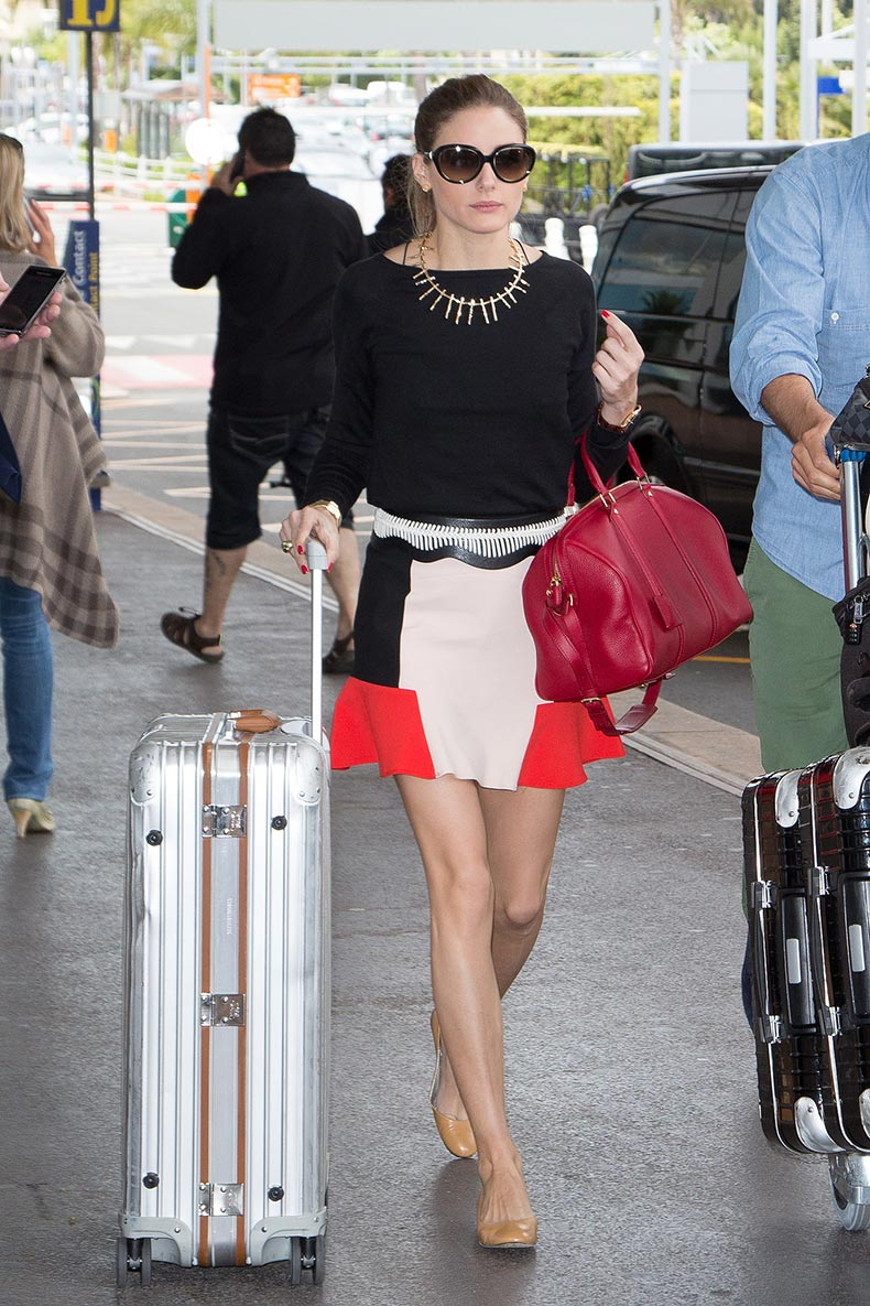Olivia-Palermo-proved-heading-airport-reason