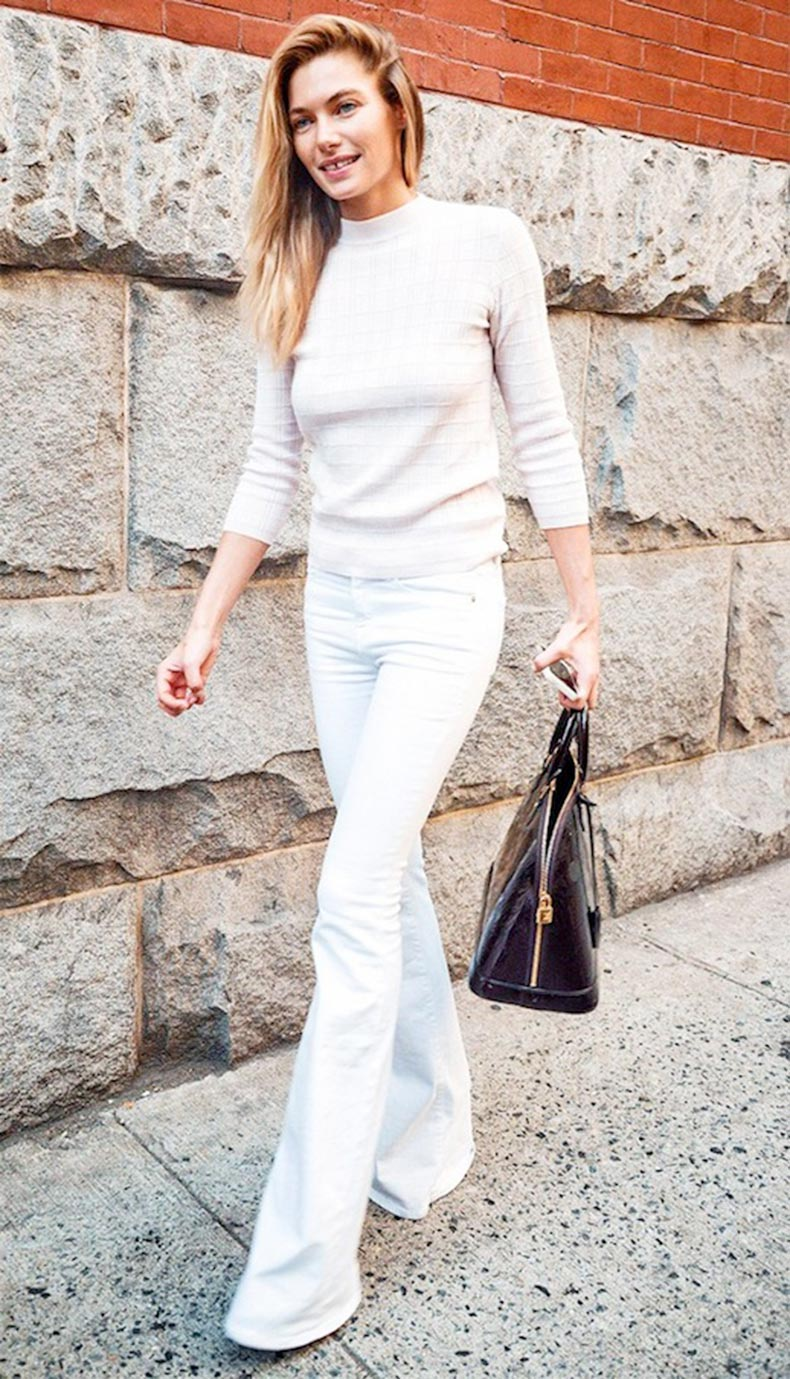 Shopbop has a collection of new white flare jeans, sure to add a touch of style to any look. We're obsessed with our current assortment of white flare jeans, and we know you will be too. The latest styles from Shopbop offers a spin on sophisticated staples.