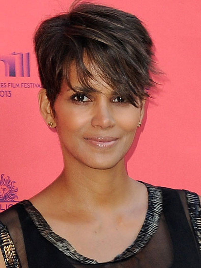 Halle Berry New Hairstyle 2013 Short Hairstyle 2013