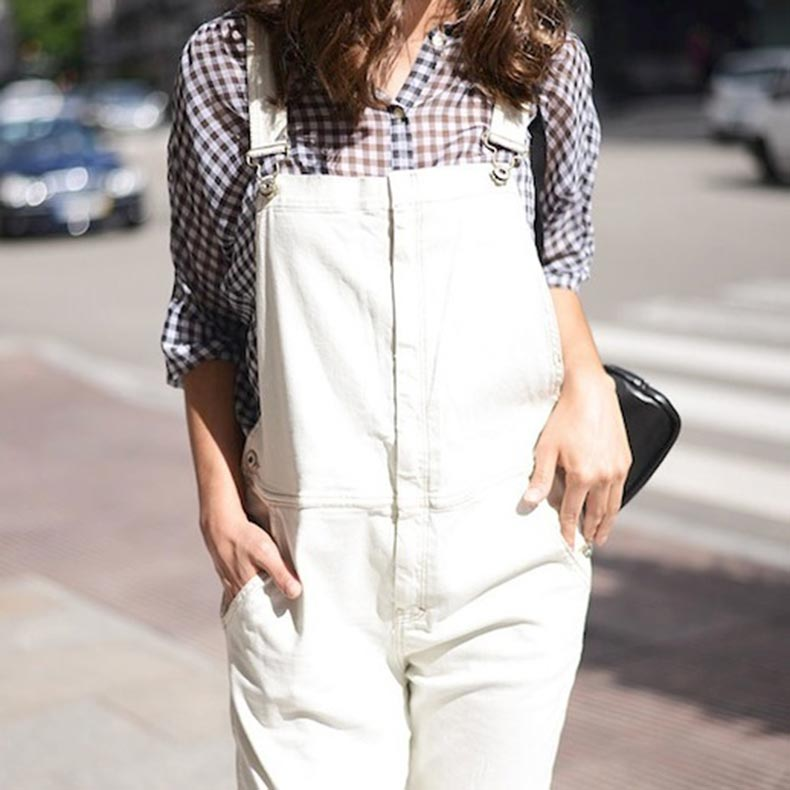 14-Le-Fashion-Blog-17-Ways-To-Wear-White-Overalls-Gingham-Shirt-Via-Blogger-The-Fashion-Through-My-Eyes