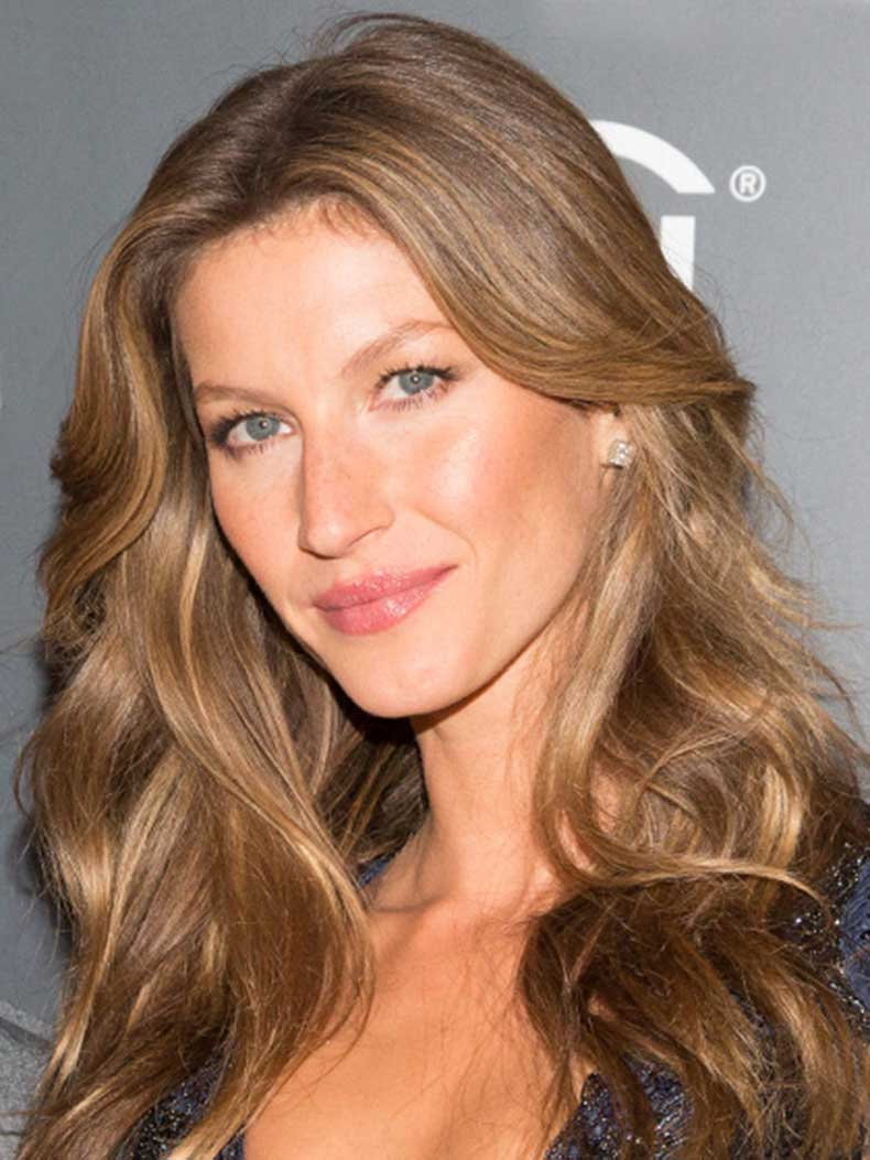 fair,skin,golden,brown,hair,gisele,bundchen