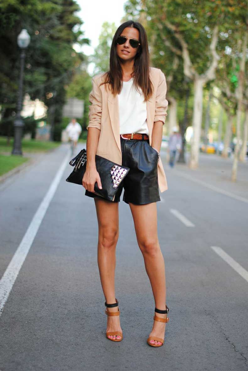 leather-shorts-and-blazer