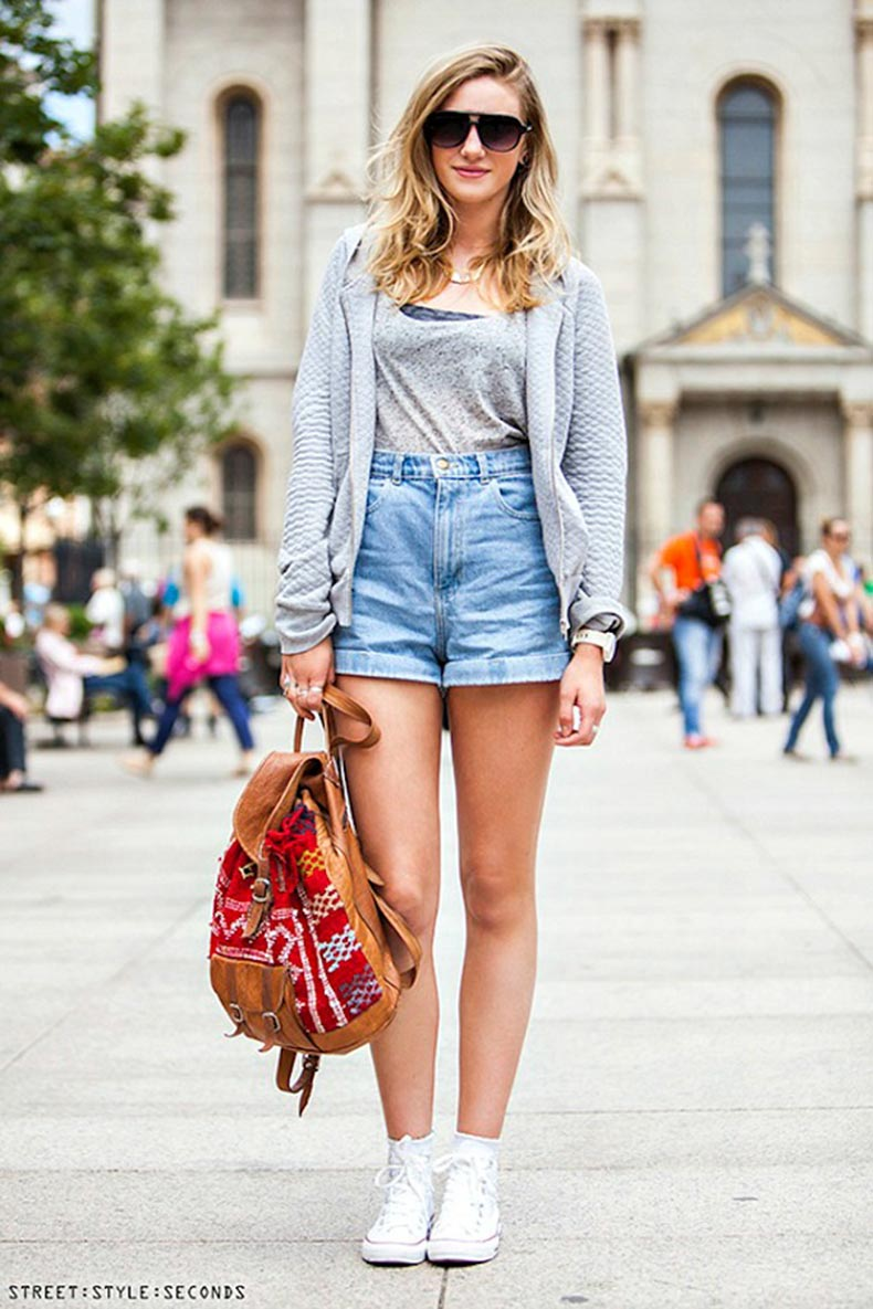 Denim-shorts-street-style-seconds-2