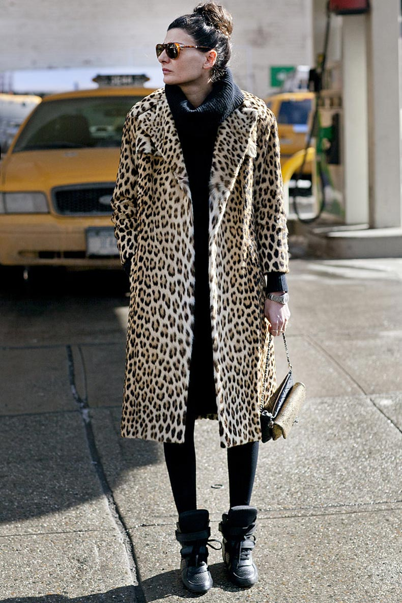Giovanna-Battaglia-didnt-need-much-more-than-leopard-print-coat
