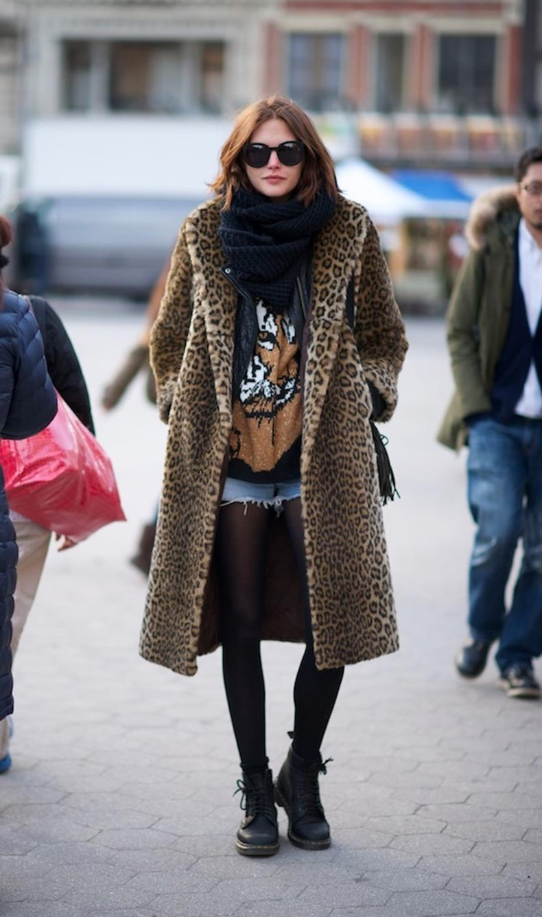 Watch: Trend Leopard Coats recommend to wear for on every day in 2019