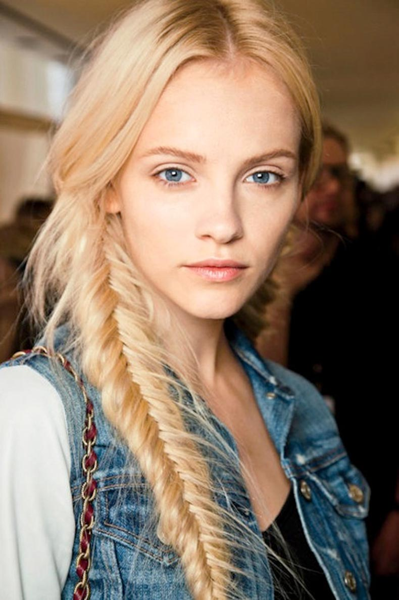 21 inspiradoras ideas de trenzas para el cabello largo for Fish tail hair