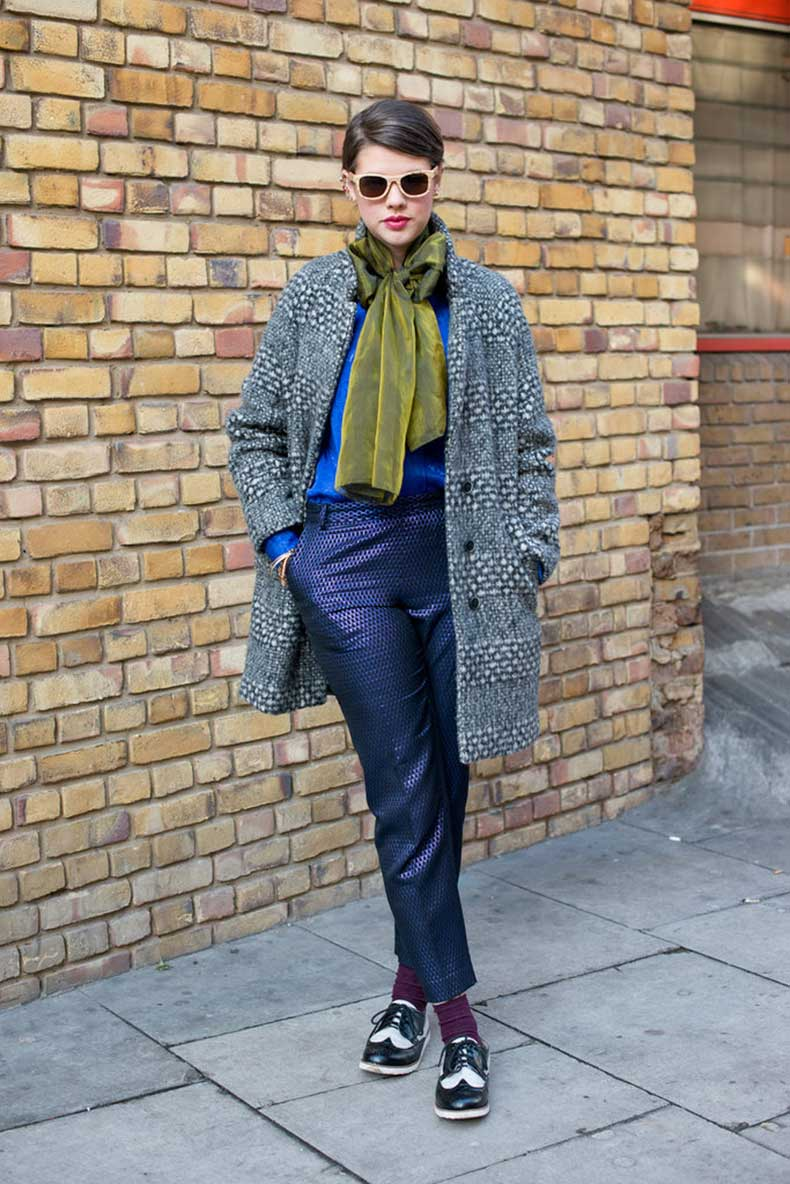 High-wattage-prints-even-her-coat-made-layered-up-look