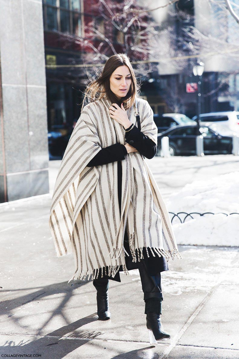New_York_Fashion_Week-Fall_Winter_2015-Street_Style-NYFW-georgia_Tordini-Striped_Cape-1-790x1185