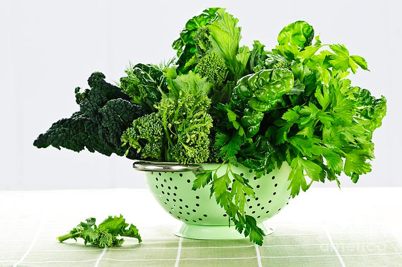 dark-green-leafy-vegetables-in-colander-elena-elisseeva