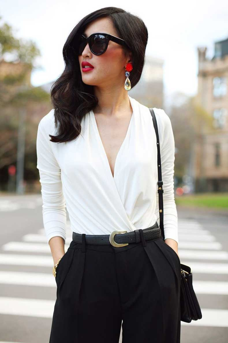 elegant-black-and-white-outfit