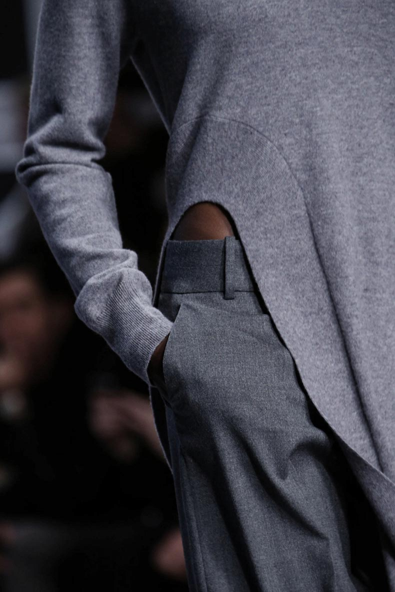 studded-hearst-grey-outfit-inspiration-Viktor-Rolf-Fall-2015-Grey-Outfit-Details