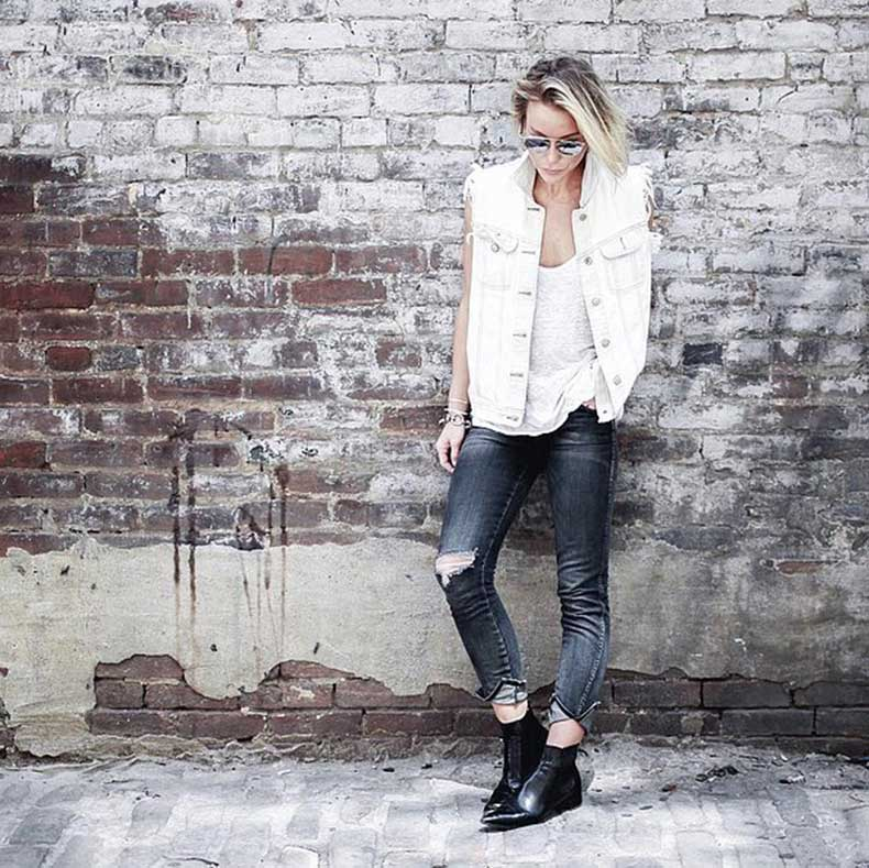 Edged-Up-Frayed-Denim-Vest-Pointed-Boots