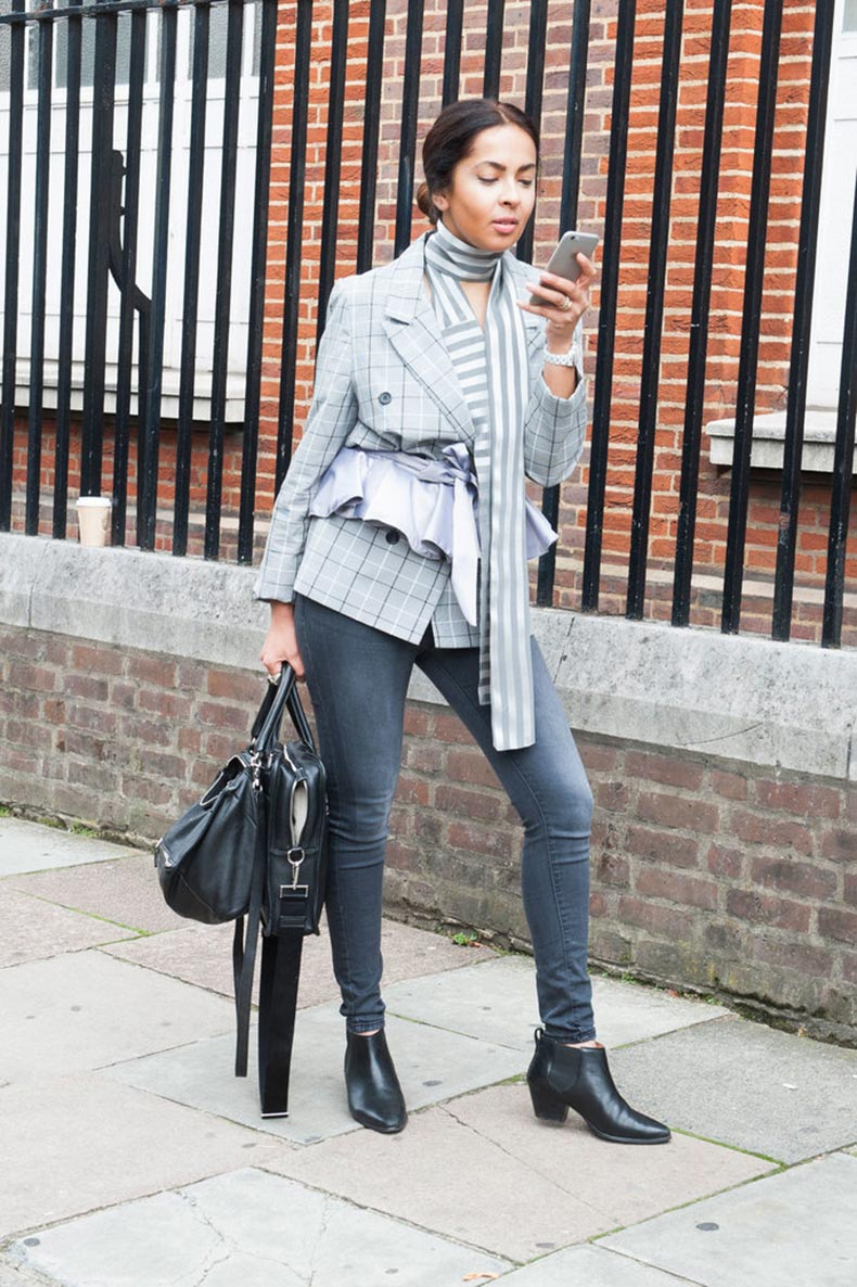 Los 50 Mejores Looks De Street Style De London Fashion Week Cut Paste Blog De Moda