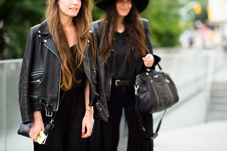 studded-hearts-NYFW-Spring-Summer-2015-shows-streetstyle-black-leather-jacket
