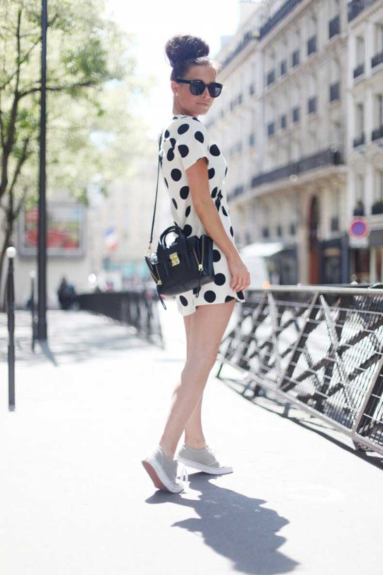 polka-dot-dress-and-sneakers