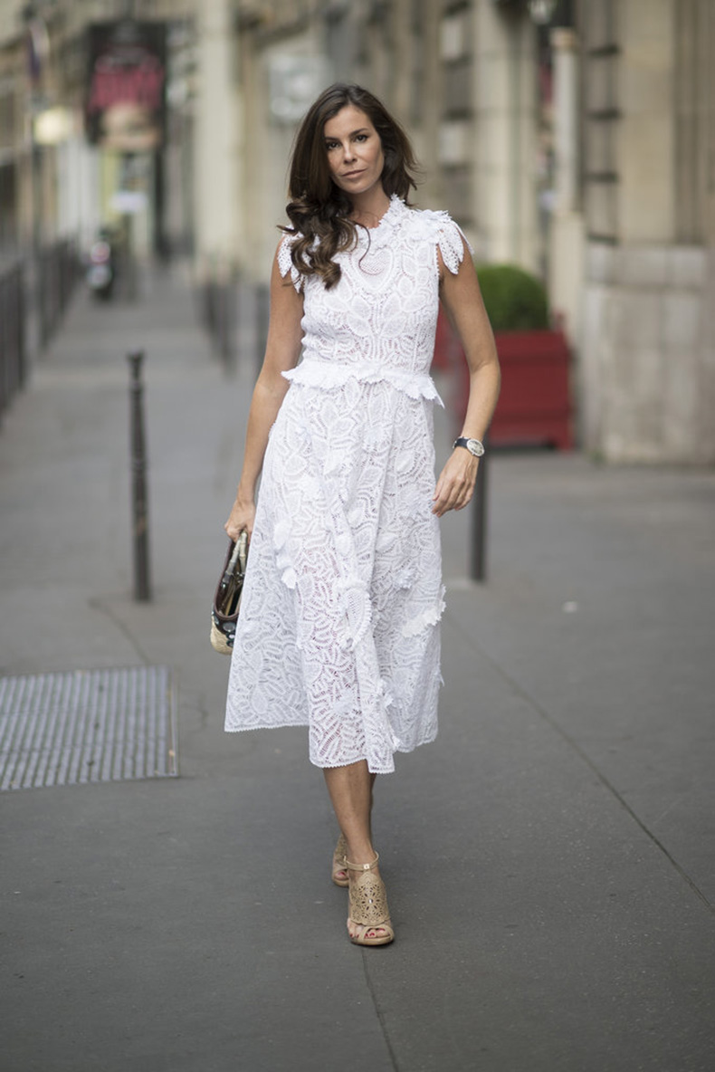 Lacey-floral-details-take-white-dress-next-level