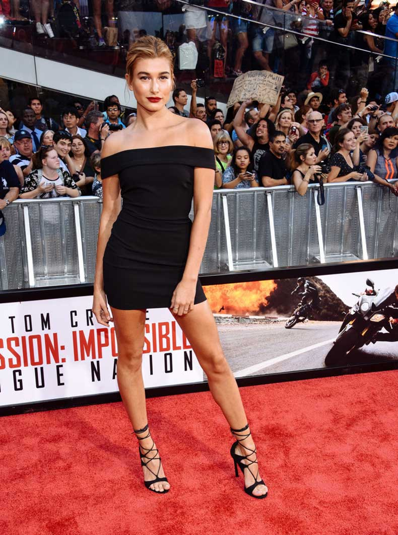 Hailey-Also-Took-Over-Red-Carpet