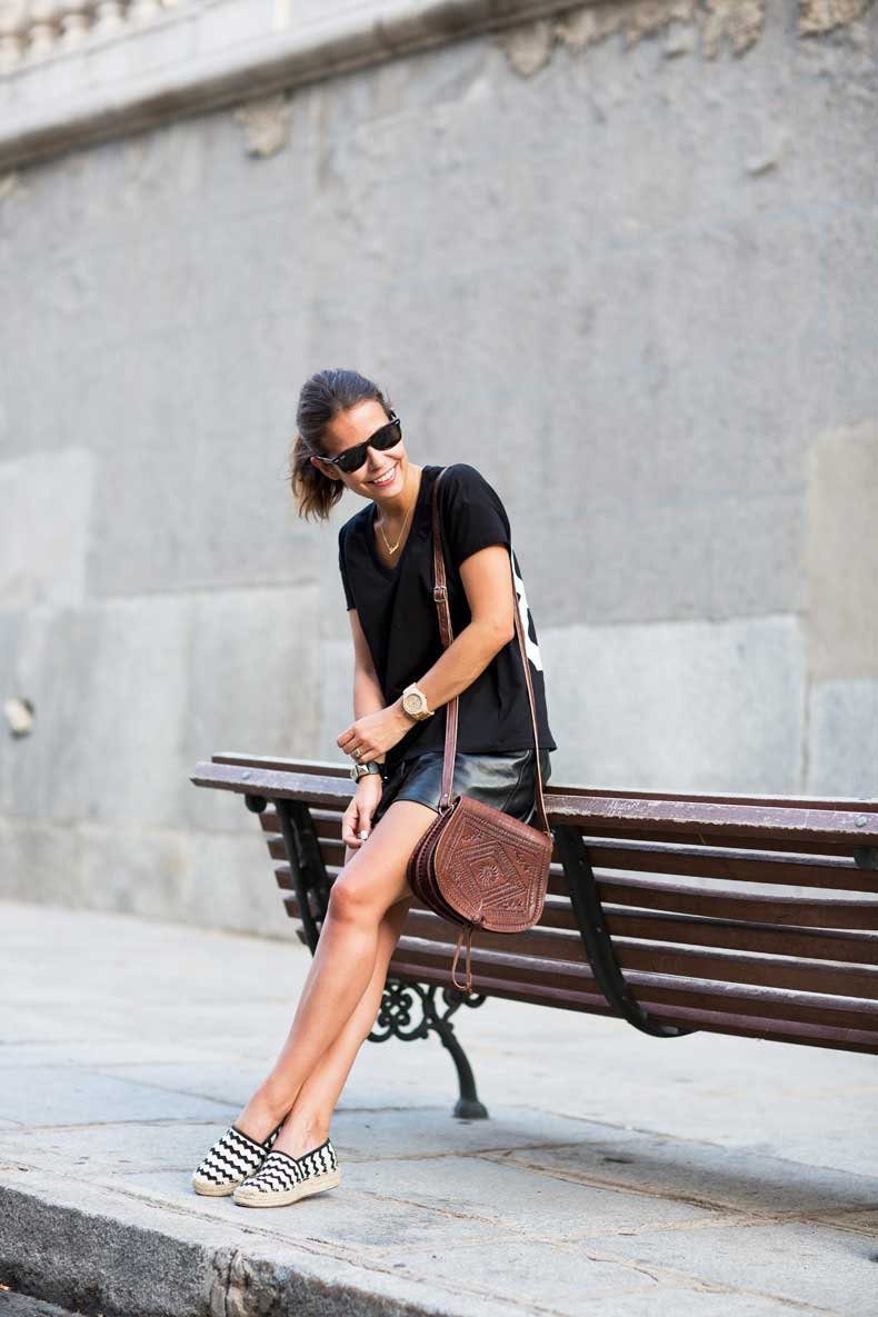 Number_tee,Leather_Shorts,Striped_Espadrilles,Outfit,Street_Style,38