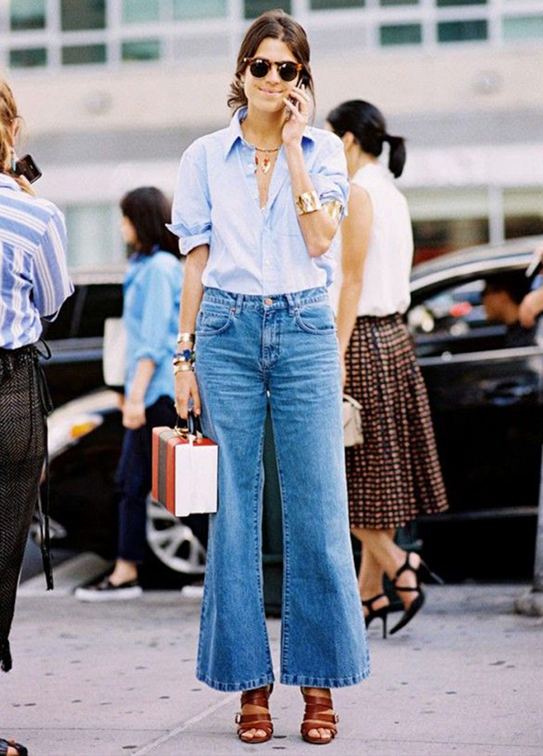 37 Looks Con Blue Jeans Para Copiar Este Verano Cut