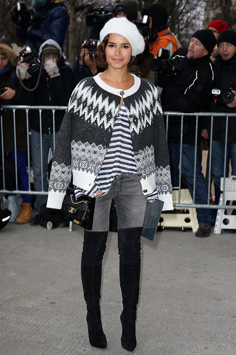la-modella-mafia-Chanel-Spring-2014-Couture-fashion-week-in-Paris-street-style-Miroslava-Duma