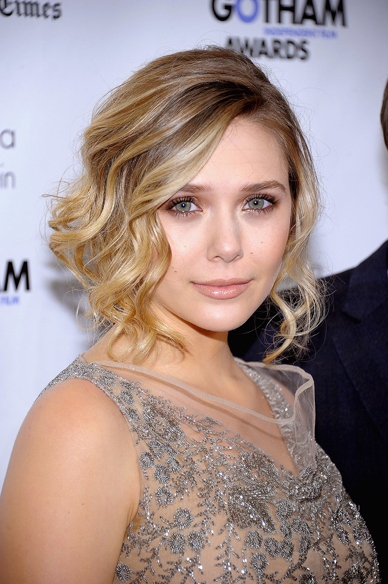 Elizabeth-Olsen-turned-midlength-cut-wavy-faux-bob