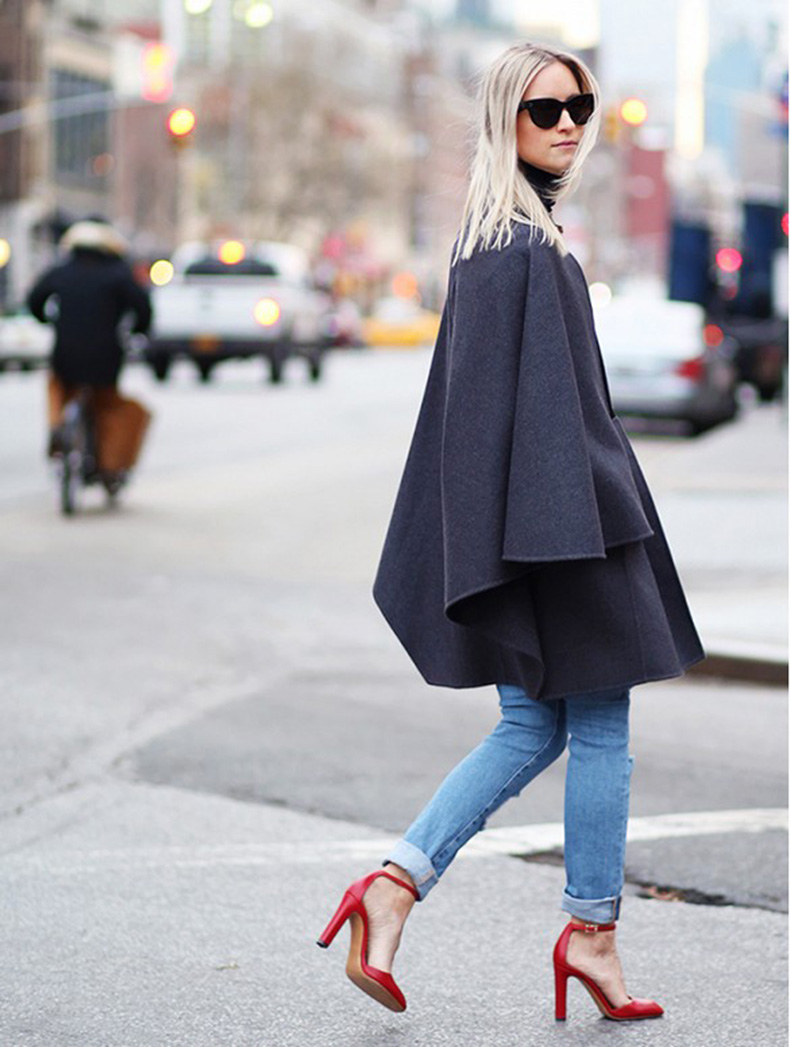 fall-ponchos-cape-rolled-jeans-red-heels-ankle-strap-heels-the-fashion-guitar-fall-outfits