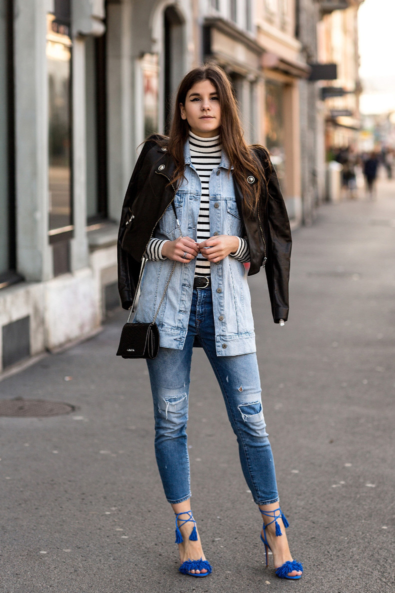 3.-tasseled-sandals-with-denim-on-denim-outfit-and-leather-jacket