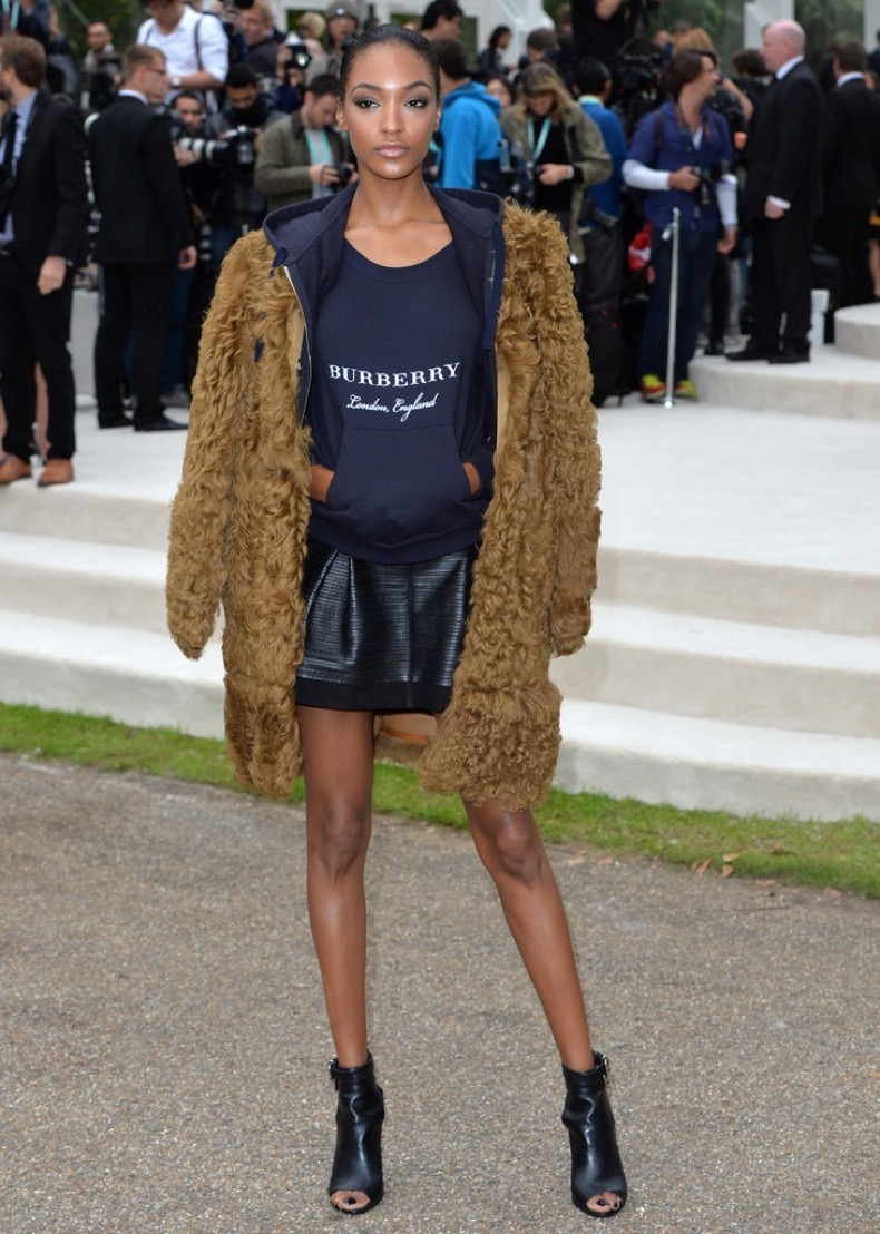 Jourdan+Dunn+Outerwear+Fur+Coat+0fBva7h_kGdx