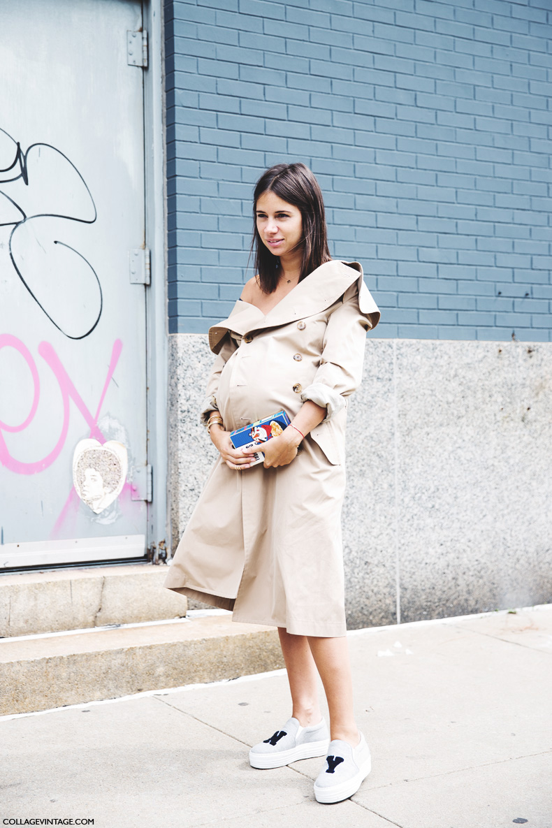 New_York_Fashion_Week_Spring_Summer_15-NYFW-Street_Style-Natasha_Goldenberg-Trench_Coat-Joshua_Sanders-Slippers-7