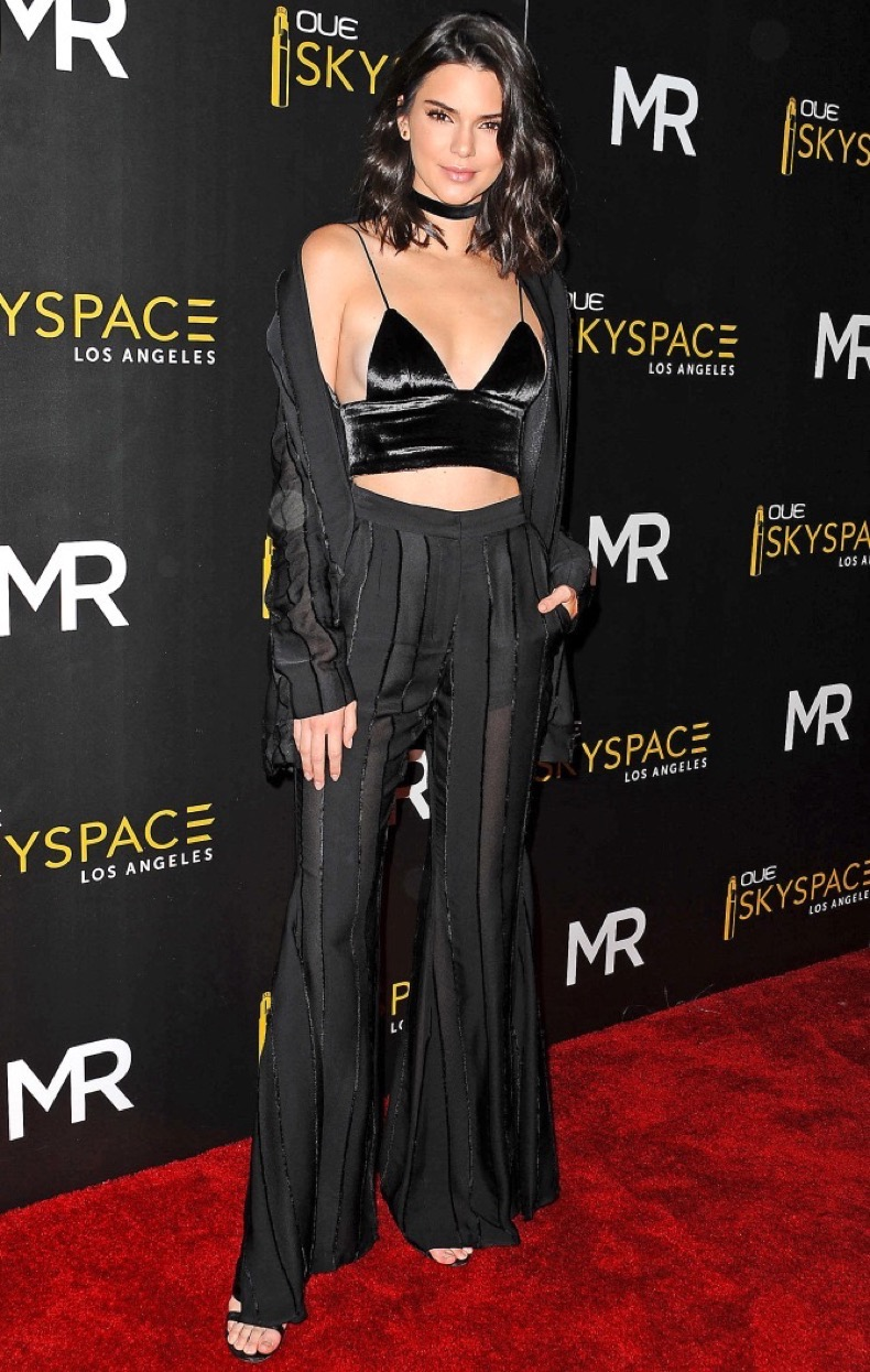 LOS ANGELES, CA - JULY 14:  Kendall Jenner attends the launch of OUE Skyspace LA at U.S. Bank Tower on July 14, 2016 in Los Angeles, California.  (Photo by Jason LaVeris/FilmMagic)