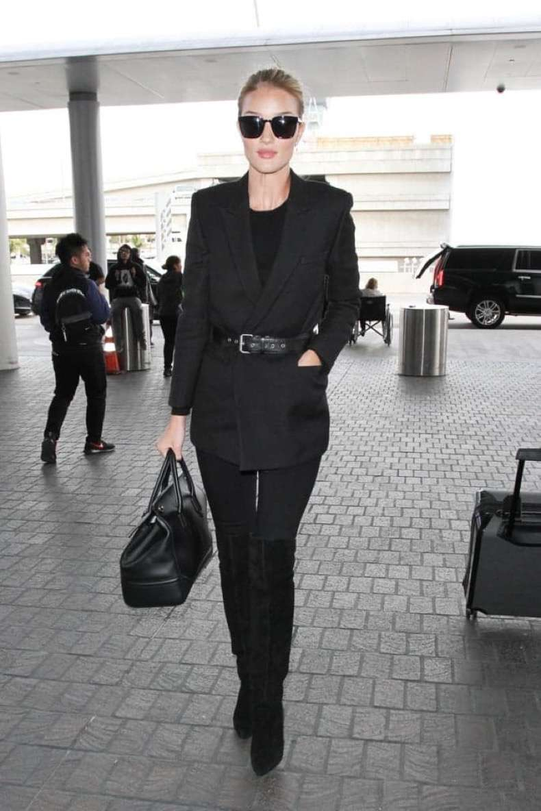 giving-jeans-sophisticated-finish-belted-black-blazer
