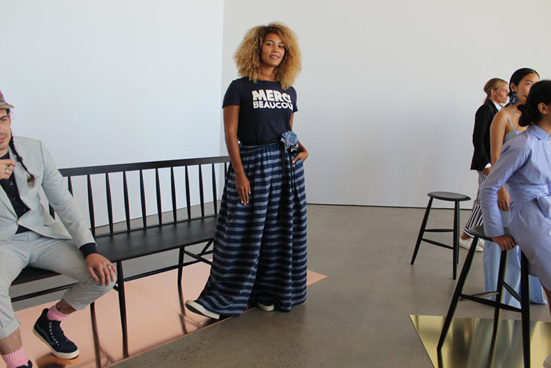 graphic-tee-maxi-skirt-cool-comfy-combination