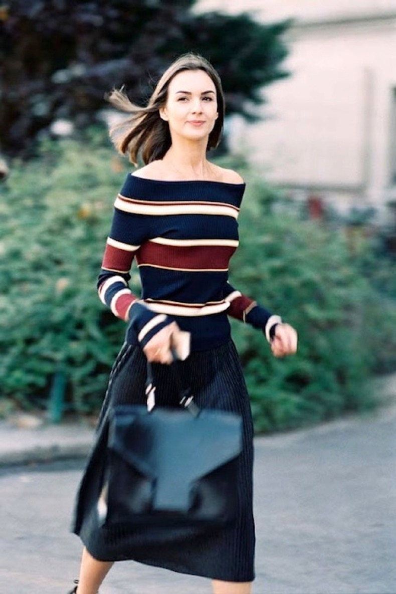 le-fashion-blog-summer-street-style-striped-off-the-shoulder-top-pinstriped-midi-skirt-leather-satchel-via-vanessa-jackman