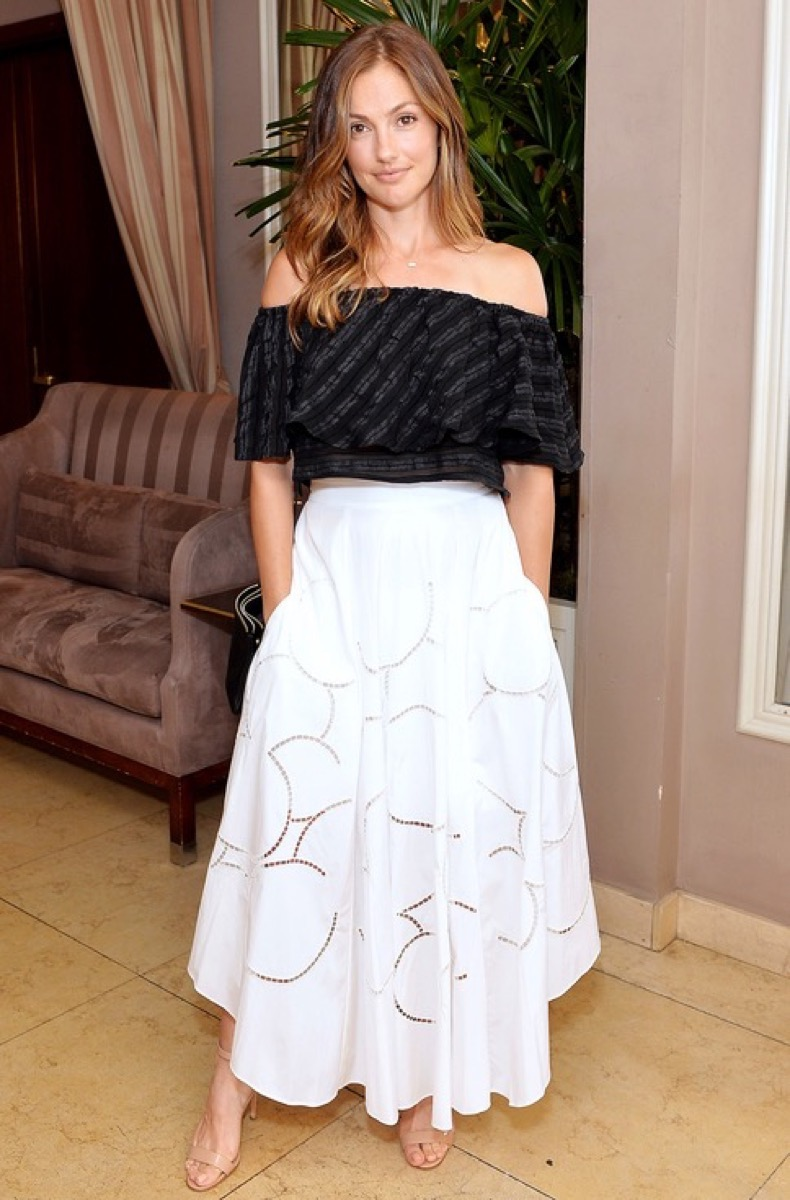 WEST HOLLYWOOD, CA - JUNE 20:  Minka Kelly attends Glamour and Facebook Host Power Players In Hollywood & Politics Lunch at Sunset Tower in West Hollywood at Sunset Tower Hotel on June 20, 2016 in West Hollywood, California.  (Photo by Stefanie Keenan/Getty Images for Glamour)