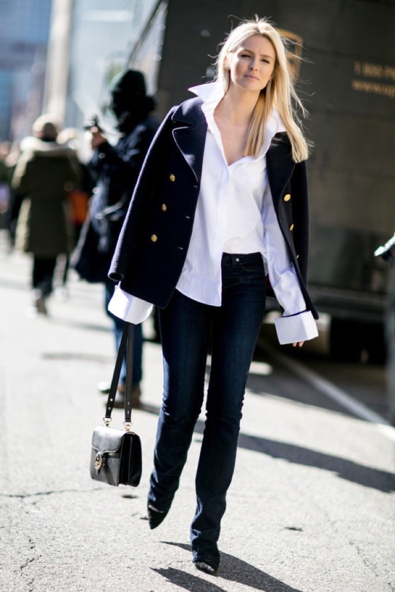 oversized-cuffs-cuffs-pea-coat-flares-flare-jeans-work-outfit-weekend-office-to-out-kate-davidsn-nyfw-street-style-ps-640x960