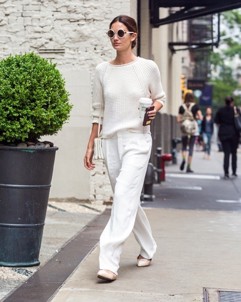 NEW YORK, NY - JUNE 01: Lily Aldridge is seen in SoHo on June 1, 2015 in New York City. (Photo by Alessio Botticelli/GC Images)