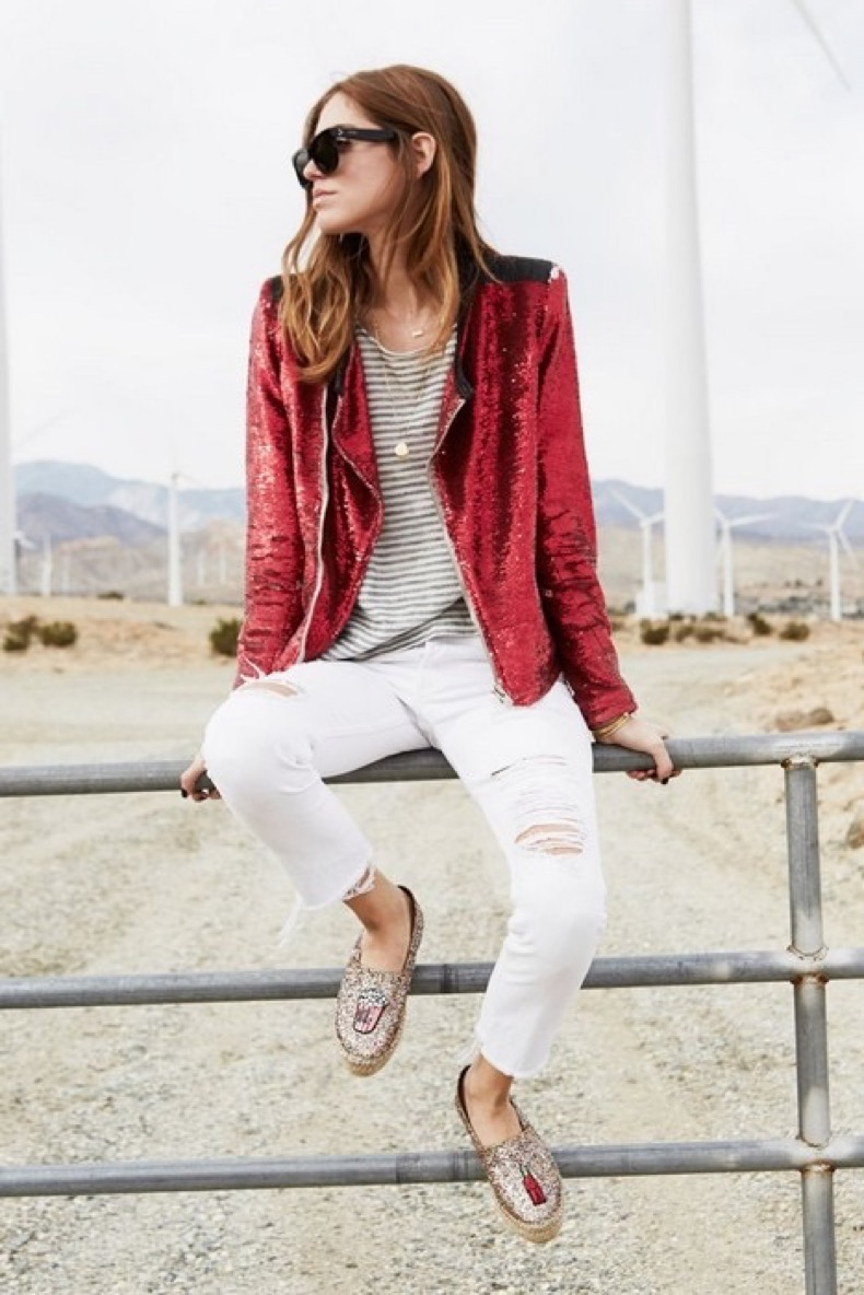 chiara-ferragni-of-the-blonde-salad-in-a-red-sequin-jacket-white-jeans-and-glitter-flats