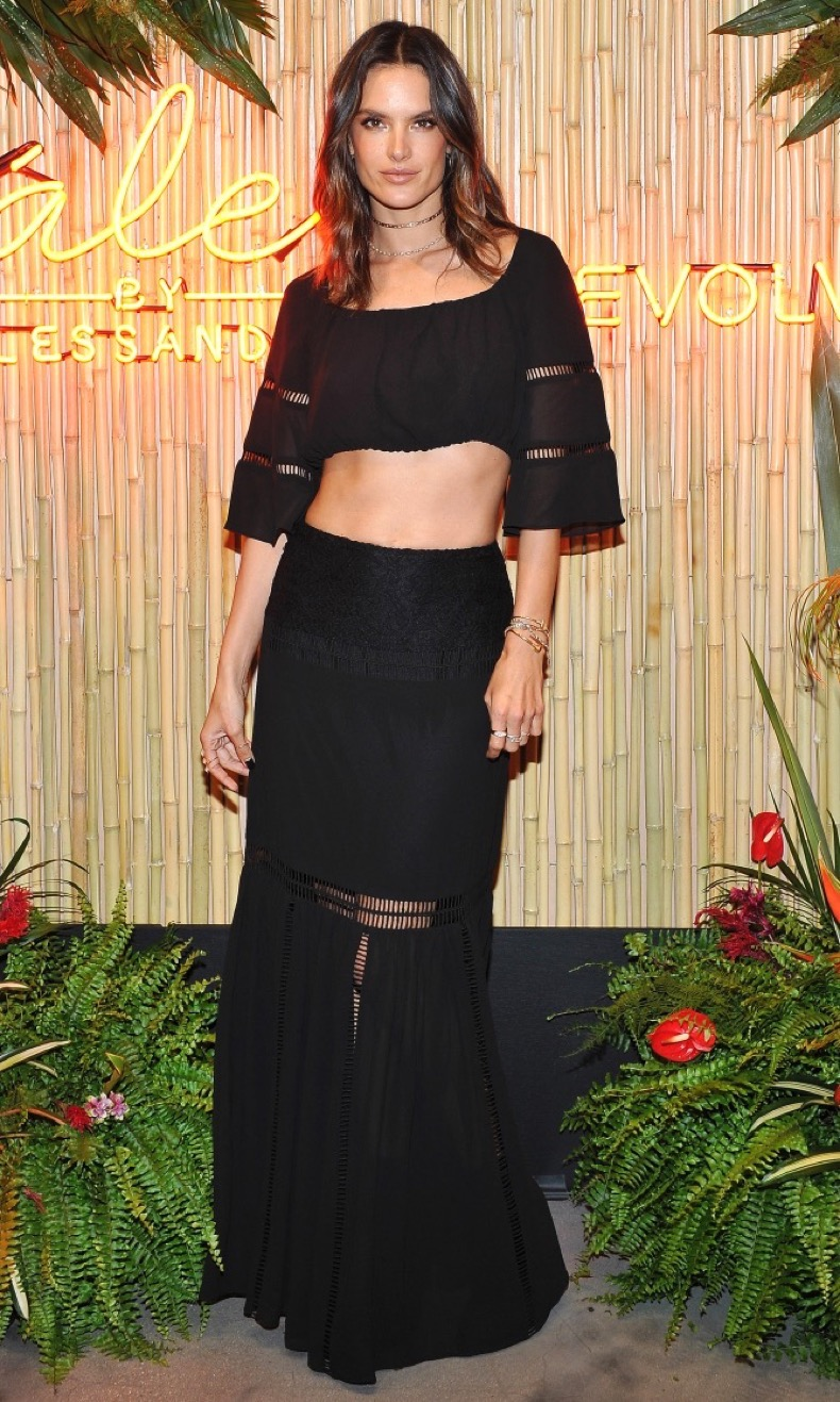 attends Ale by Alessandra X REVOLVE at Revolve Social Club on October 19, 2016 in Los Angeles, California.