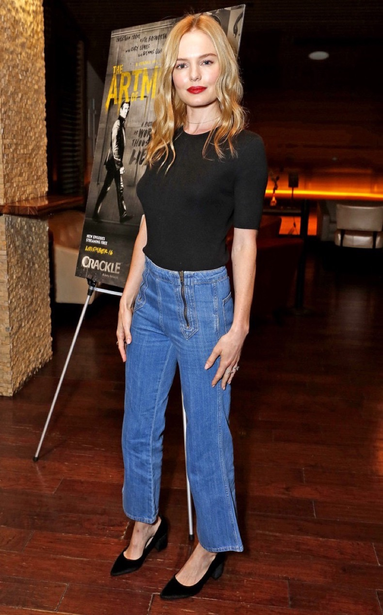 """Kate Bosworth seen at Crackle's """"The Art of More"""" SAG Screening at The Landmark on Tuesday, Oct. 25, 2016, in Los Angeles. (Photo by Steve Cohn/Invision for Crackle/AP Images)"""