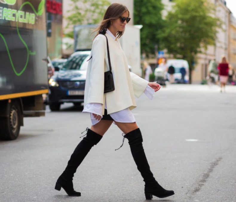 summer-to-fall-oversized-sleeves-over-the-knee-boots-bell-sleeves-summer-to-fall-transitional-dressing-fall-work-black-and-white-keep-it-chic