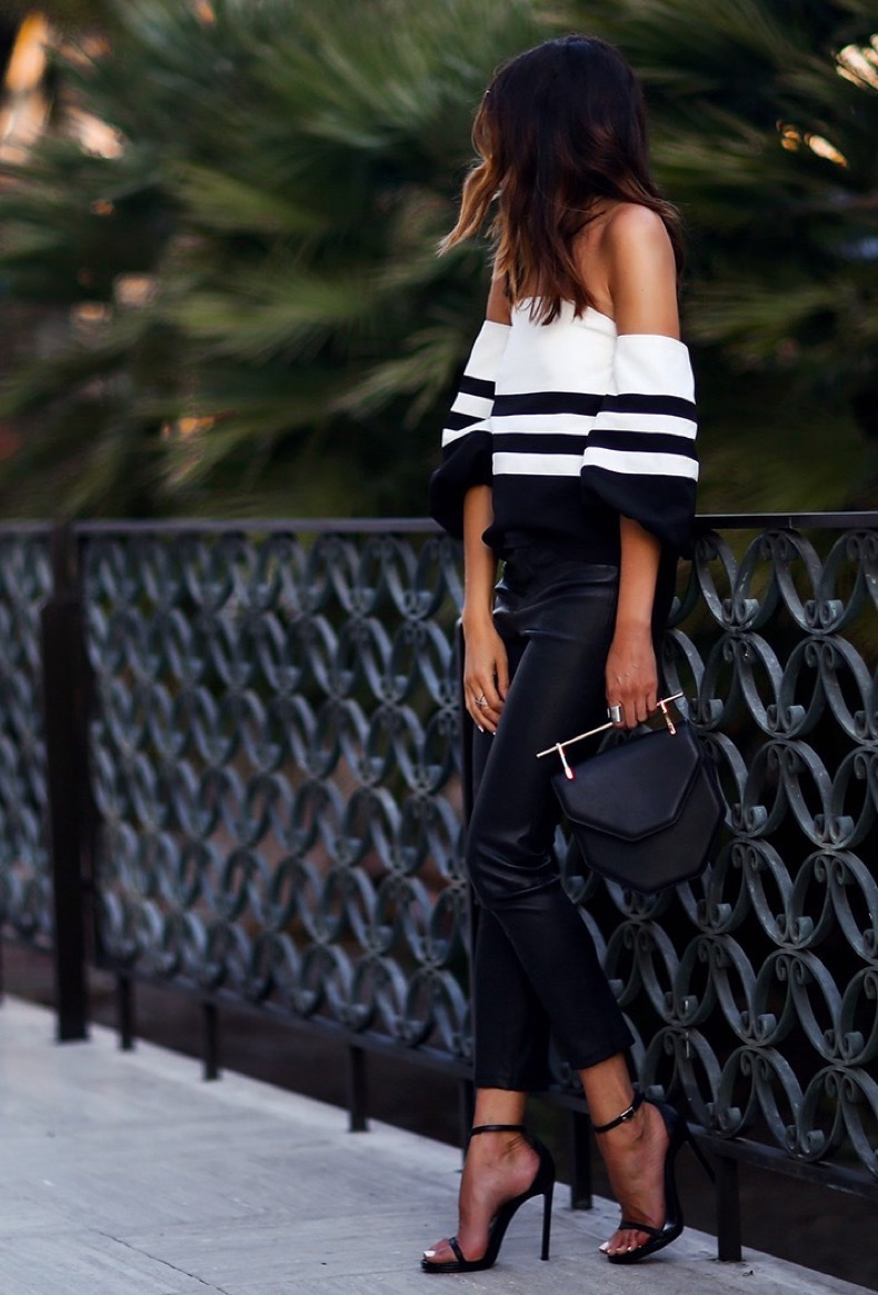 how-to-wear-stripes-summer-fashioned-chic